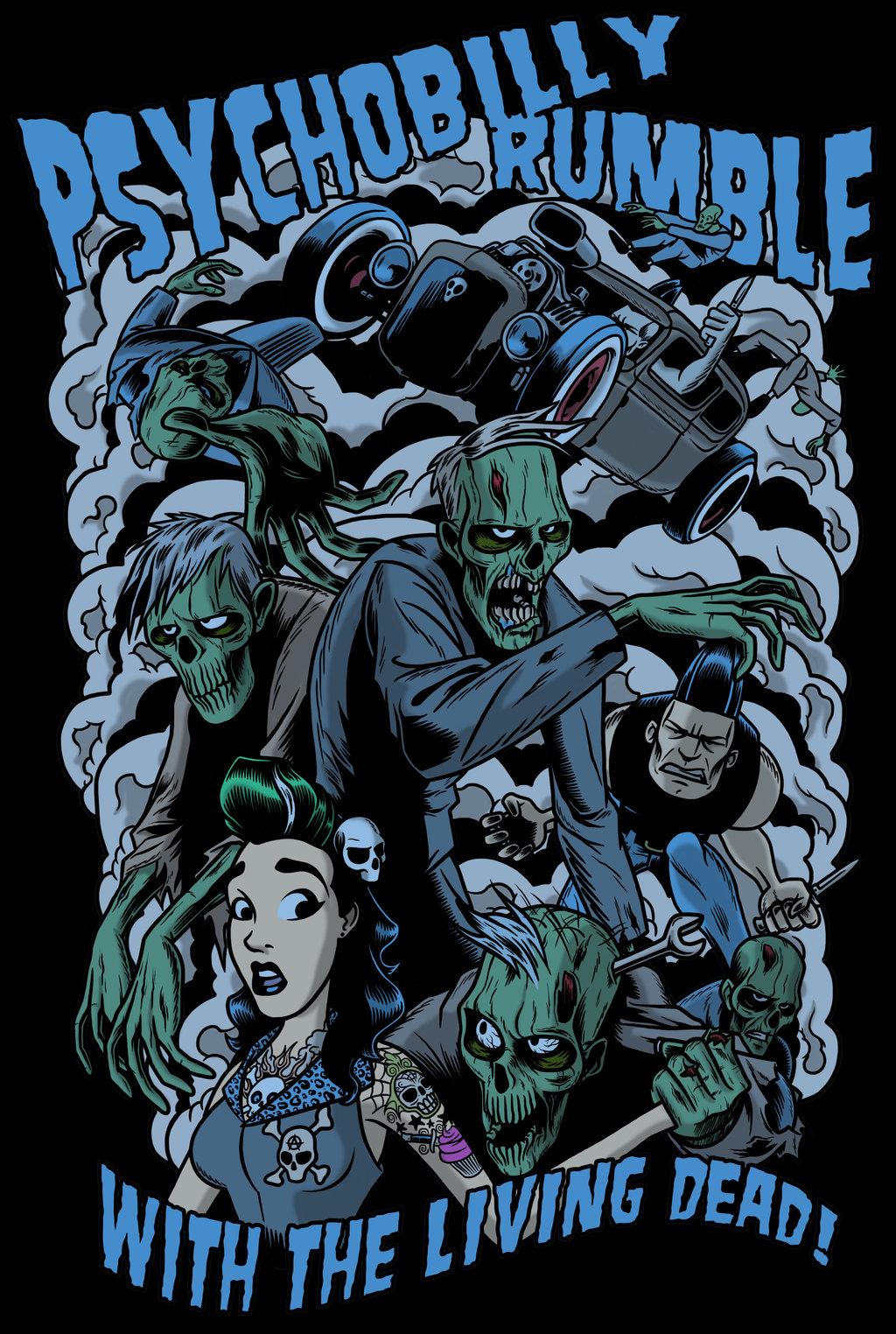 Best 54 Psychobilly Wallpaper on HipWallpaper Psychobilly 1024x1524