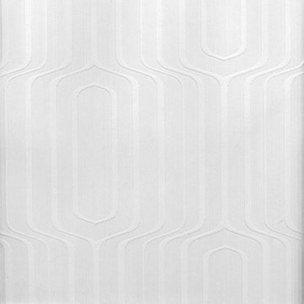 Pitch Geometric Ogee Paintable Wallpaper   Modern   Wallpaper   by 600x600