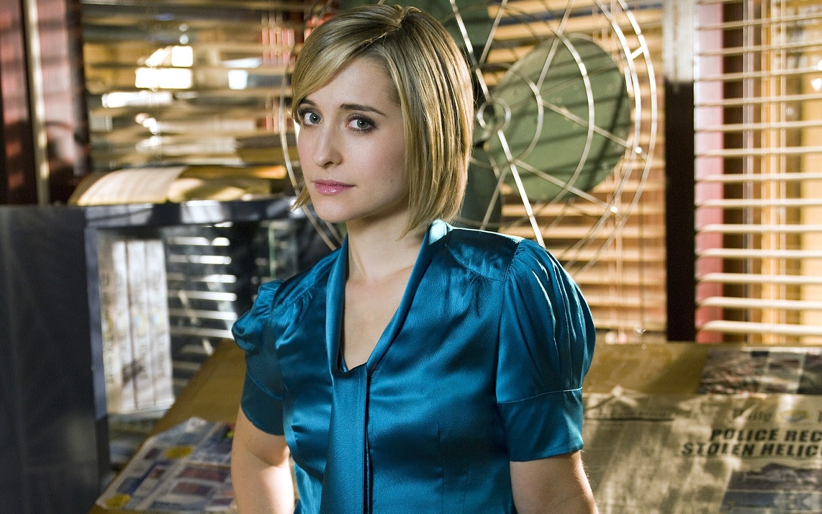 Allison Mack Wallpapers 1600x1000