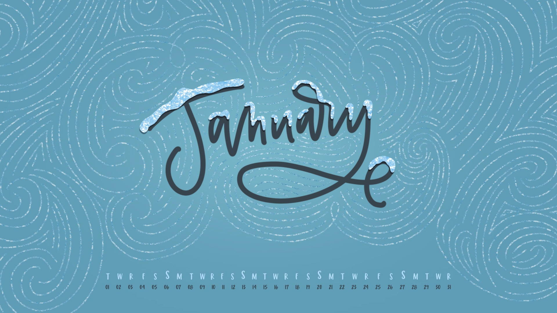 January 2019 HD Calendar Wallpapers Calendar 2019 1920x1080