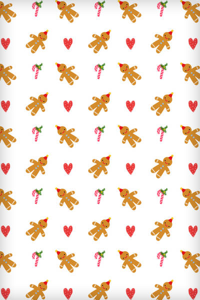 Photo Christmas Gingerbread Man In The Album Animal Wallpapers By 400x600