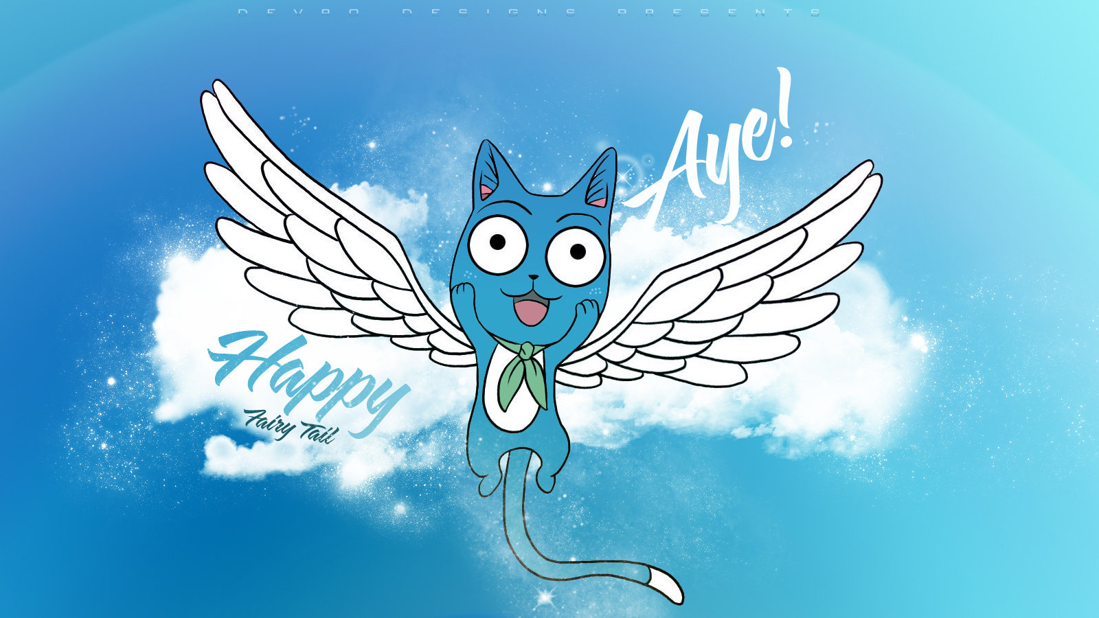 Fairy Tail Happy Wallpapers Daily Backgrounds in HD 1600x900