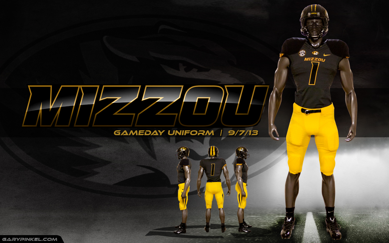 Mizzou Football Nike Uniform Combination September 7 1280x800