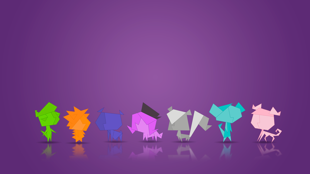 Littlest Pet Shop Origami Wallpaper by Bob 97HTF 1024x576