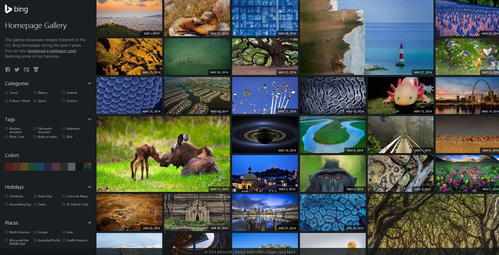 Bing Screensaver That Changes Each Day Photo 1898x973