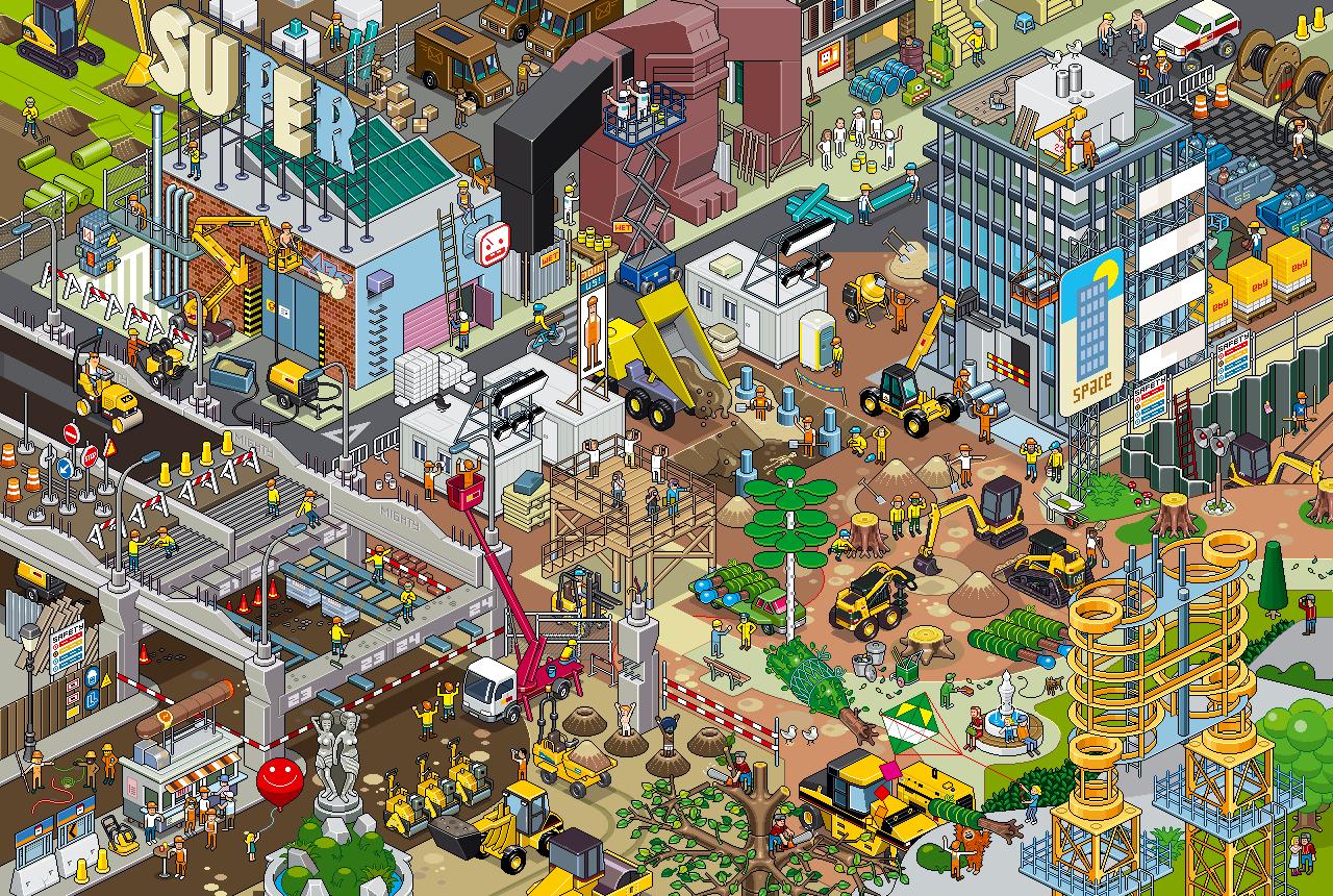 Pixel Wallpaper HD