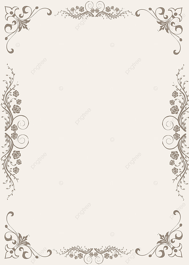 Fresh And Elegant Wedding Invitation Background Fresh Elegant 640x896