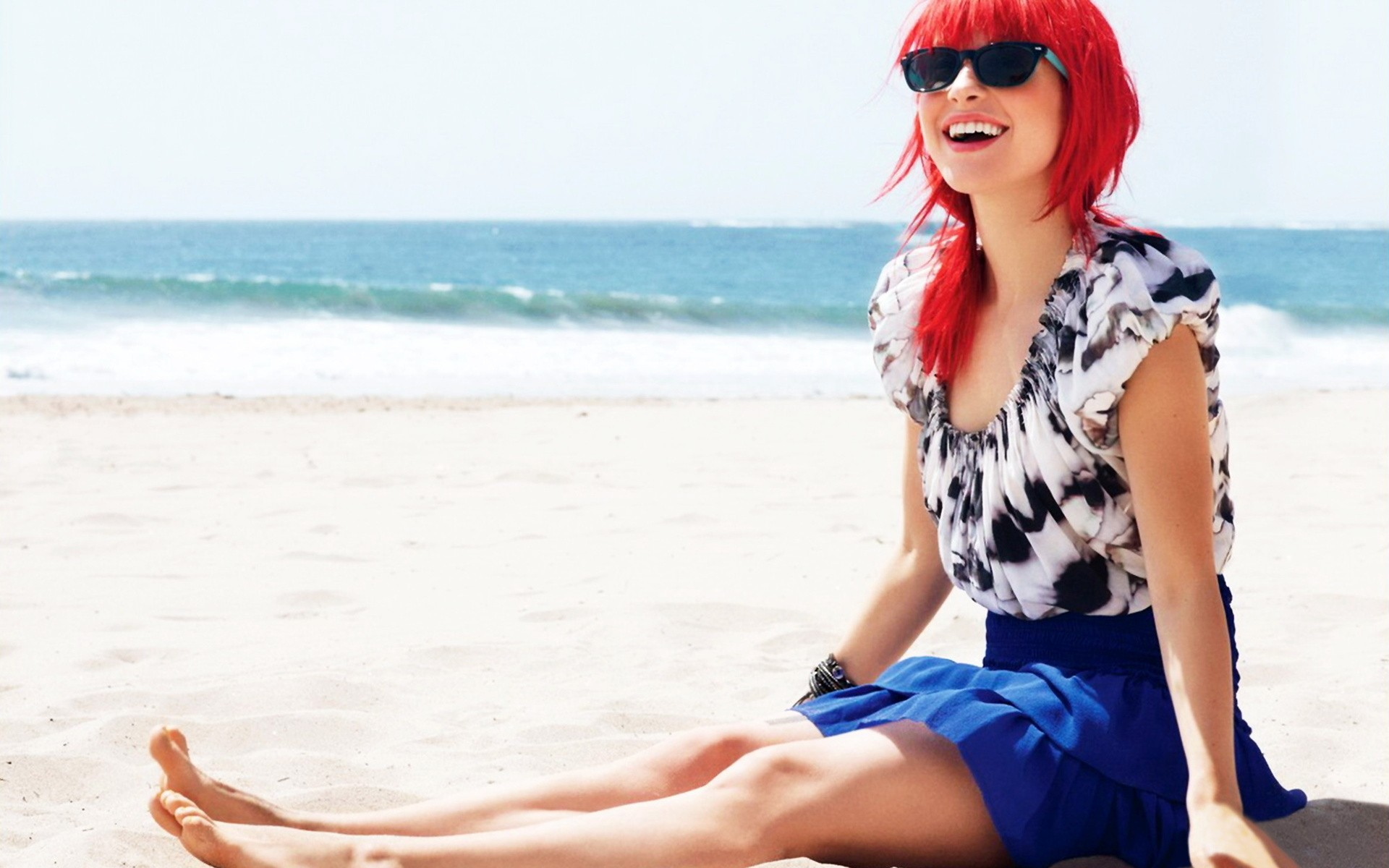 Hayley Williams Wallpaper 1920x1200 Hayley Williams Women Beach 1920x1200