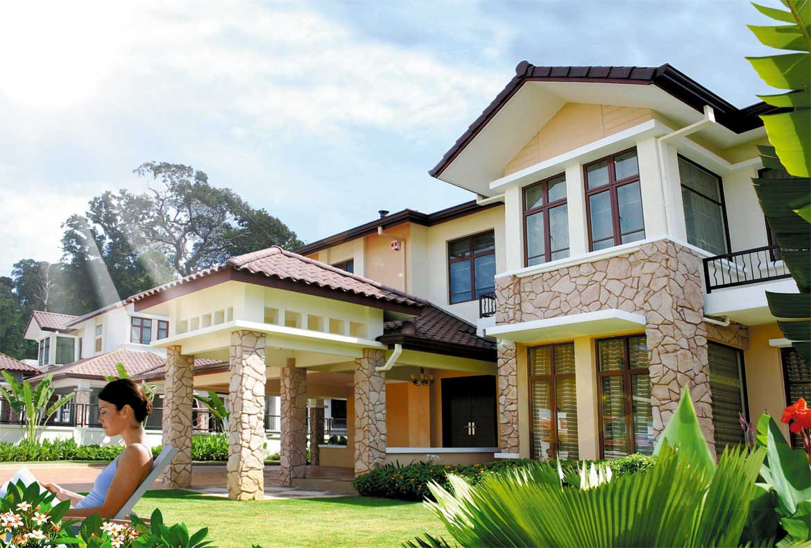 Malaysia bungalow house 27921 wallpapers free home decoration hd