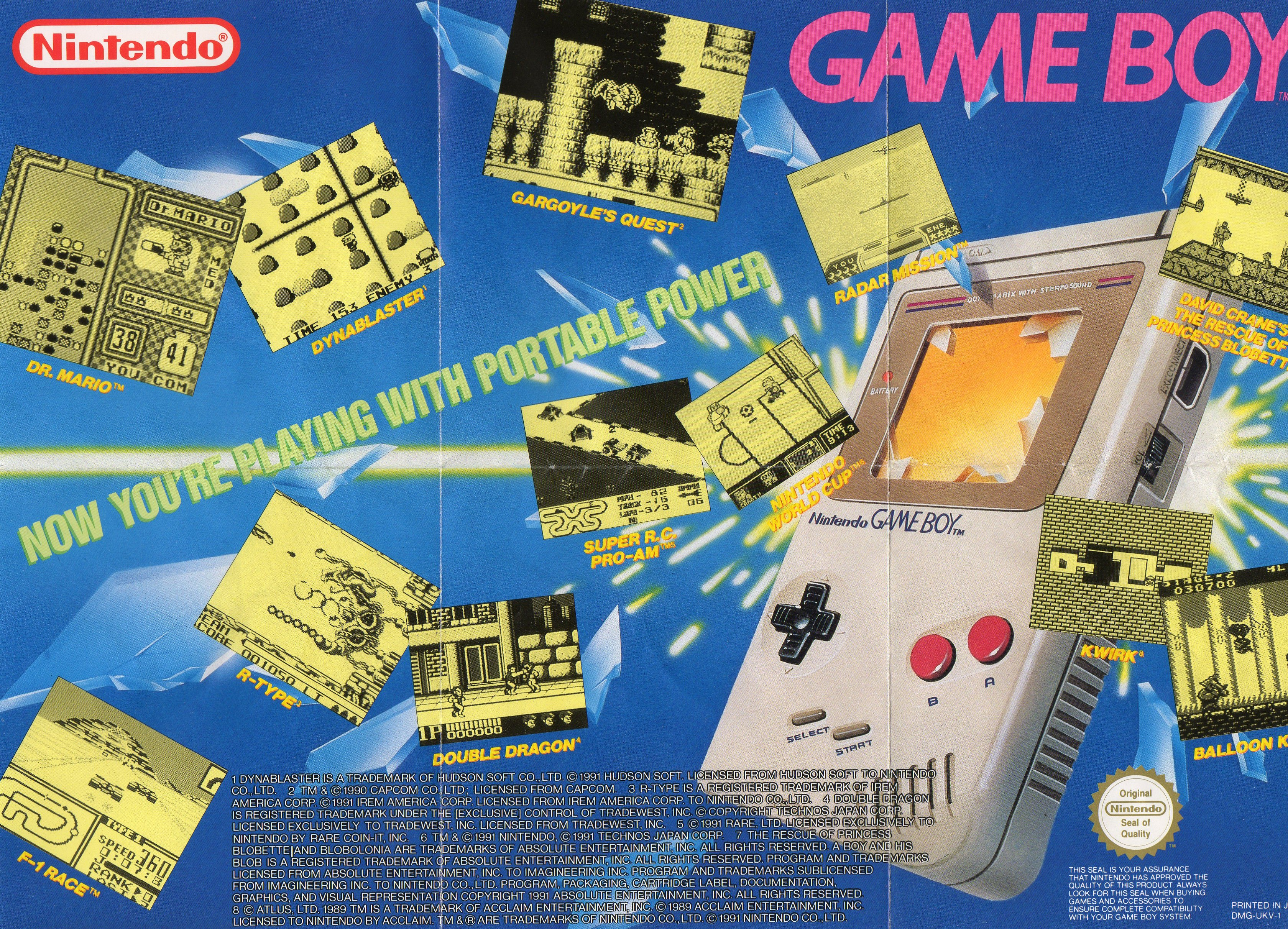 the game boy and game boy 3360x2424