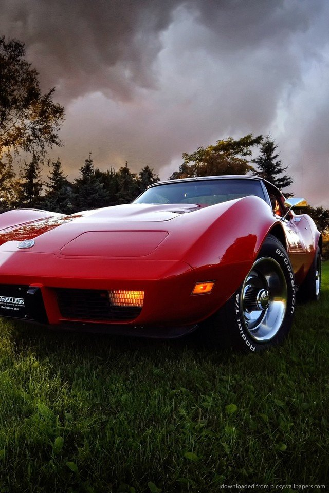 iphone corvette wallpaper wallpapersafari