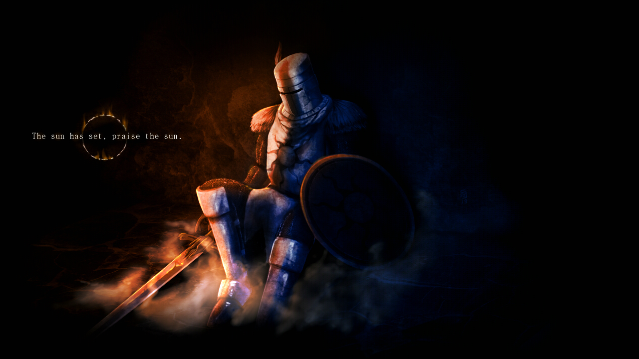 Free Download Dark Souls The Sun Has Set Praise The Sun By