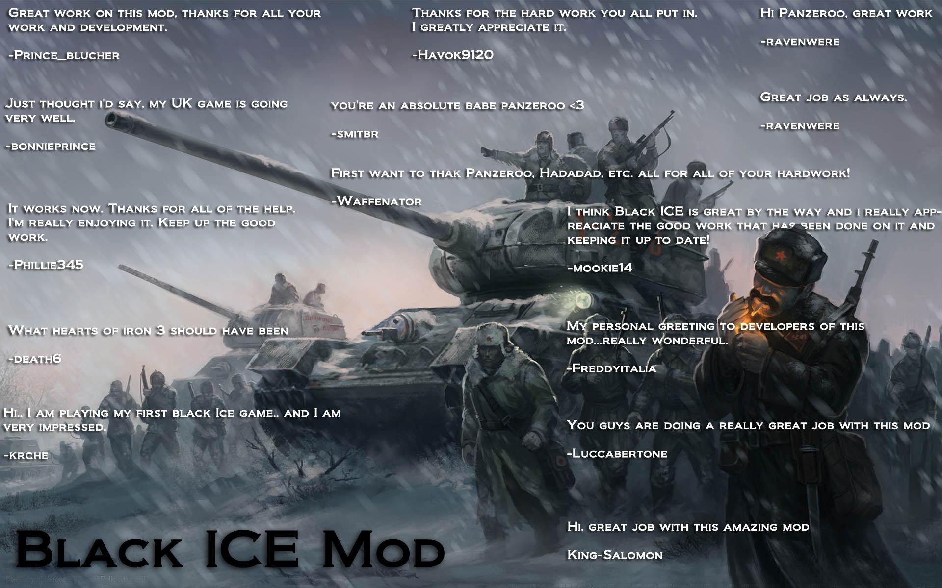 Black ICE MKVI Patch 931 Released news   Mod DB 1920x1200