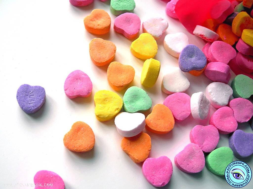 Candy Heart Wallpaper - WallpaperSafari