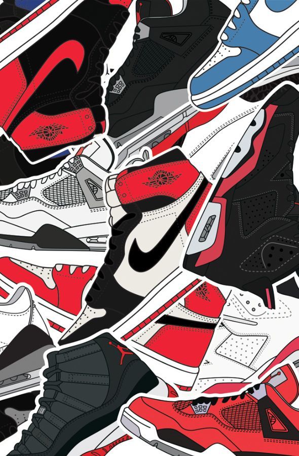 The Jumpman Print Available at FLASHXHYPEcom protective feet 590x900