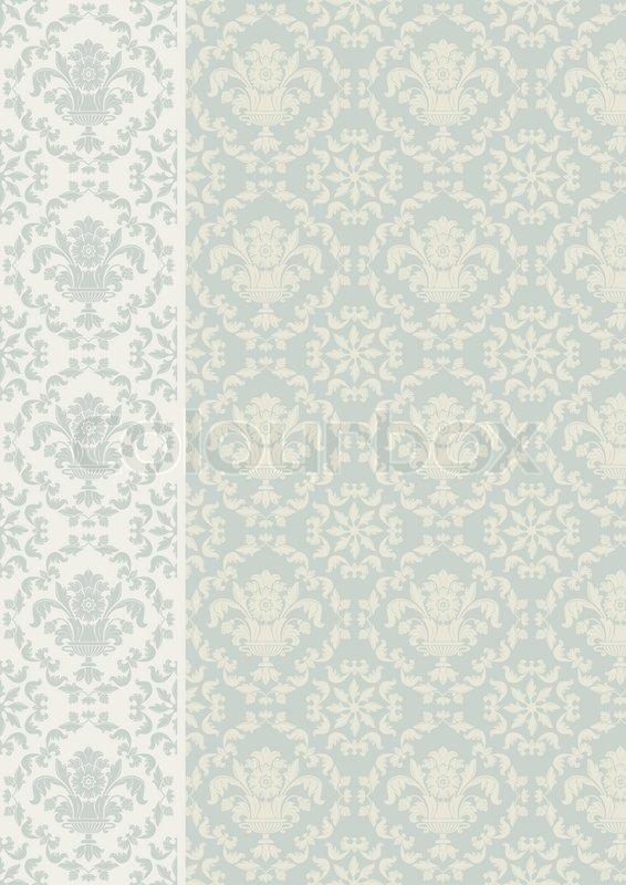 Modern Wallpaper on Modern Old Ornament Outline Pattern Plant 566x800