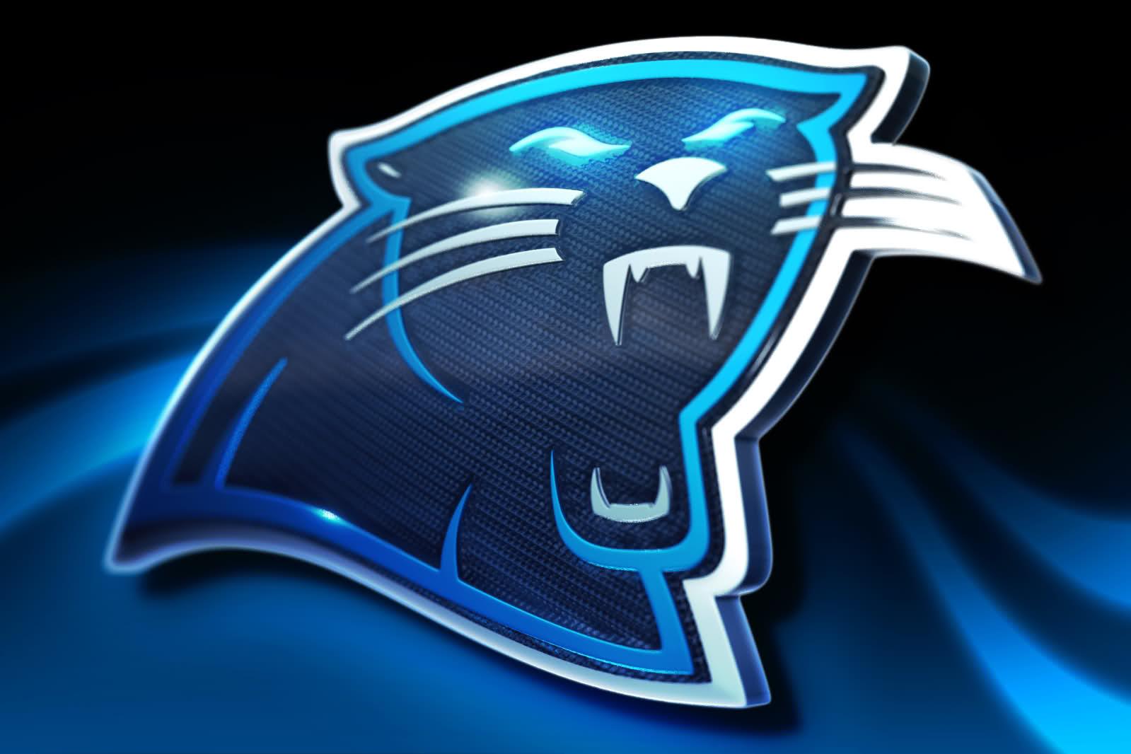Carolina Panthers New Logo Wallpaper Carolina panthers glowing 1599x1066