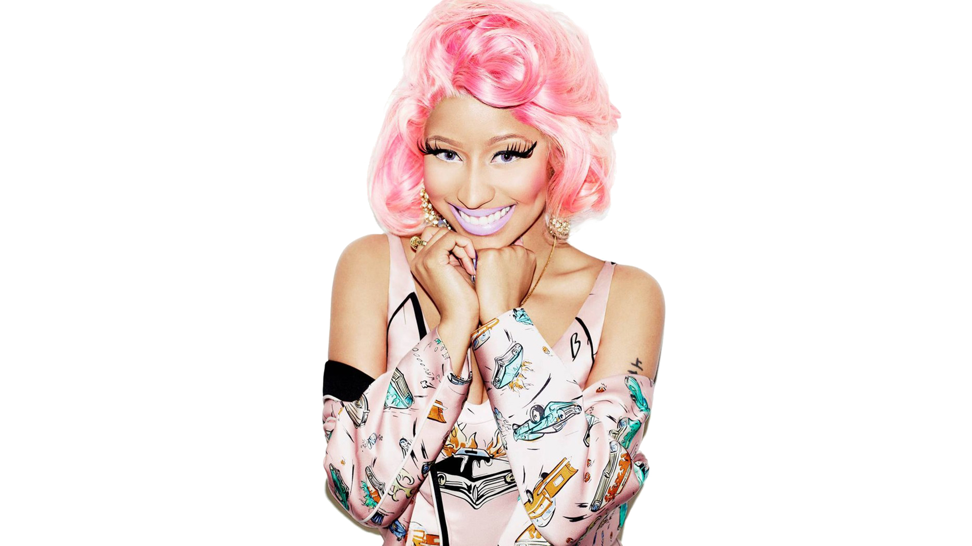 Nicki Minaj Background 1920x1080