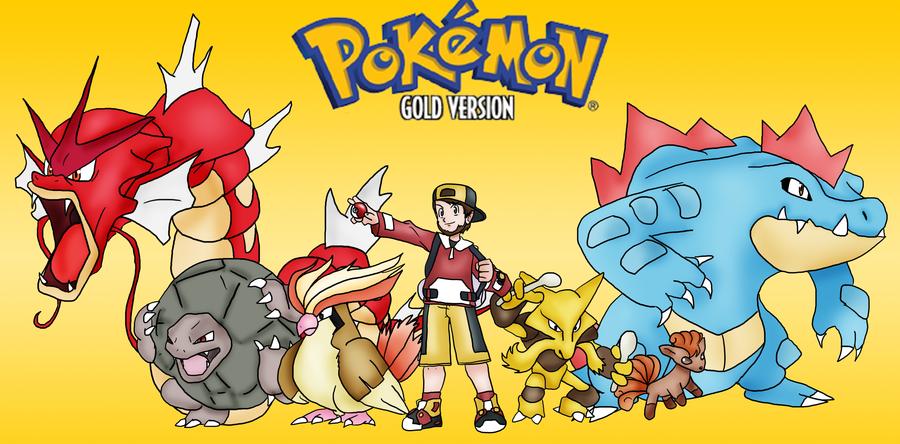 Pokemon Gold 2012 Playthough Team by SkyMaro 900x444