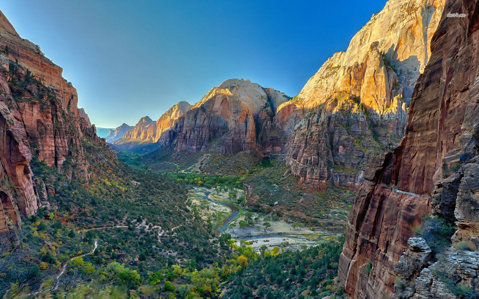 Zion National Park wallpaper   Nature wallpapers   24924 1680x1050