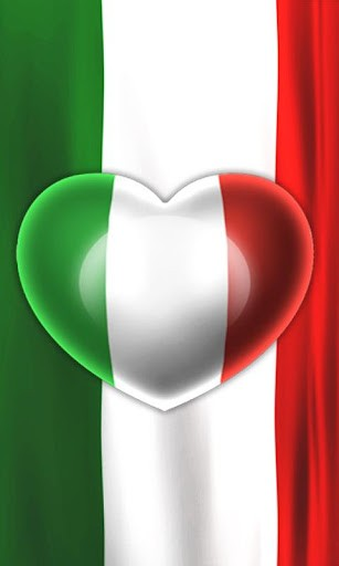 Italian Flag Wallpaper For Iphone Love italy flag live wallpaper