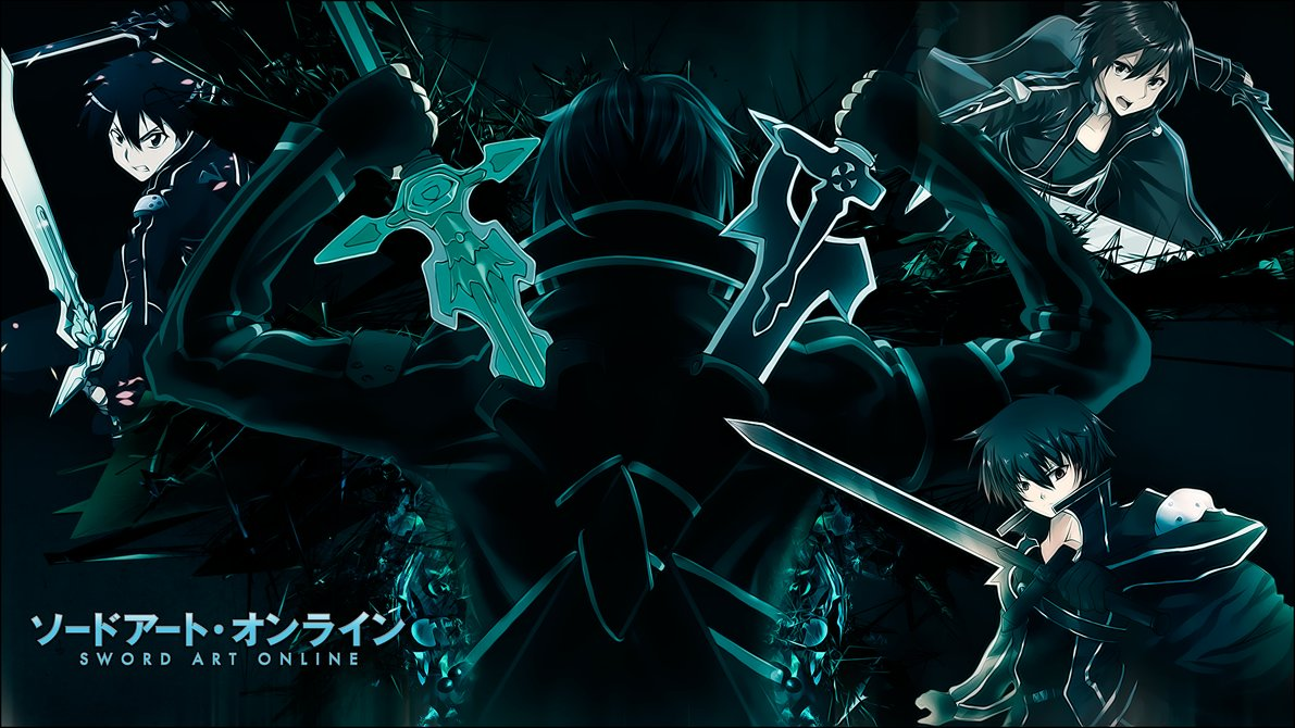 Kirito - SAO: Wallpaper by JuaNegro on DeviantArt