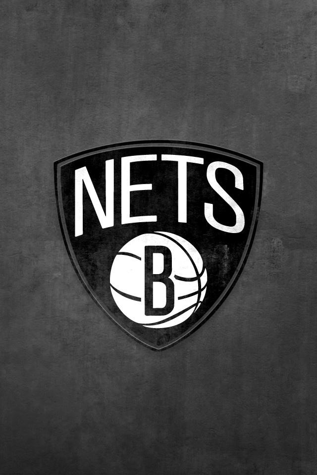 Brooklyn Nets NBA IPHONE WALLPAPER Pinterest 640x960