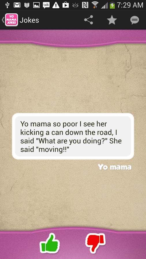Yo Mama Jokes   screenshot 506x900