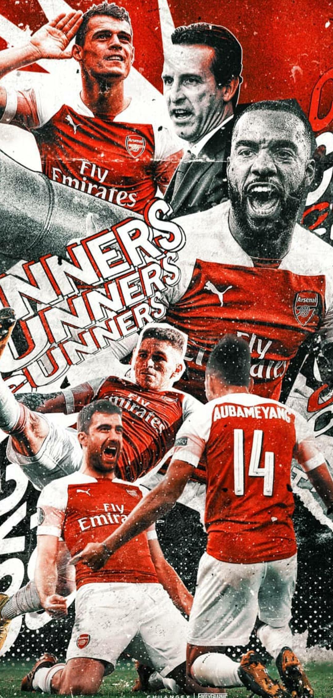 Arsenal wallpaper Gunners 1080x2260