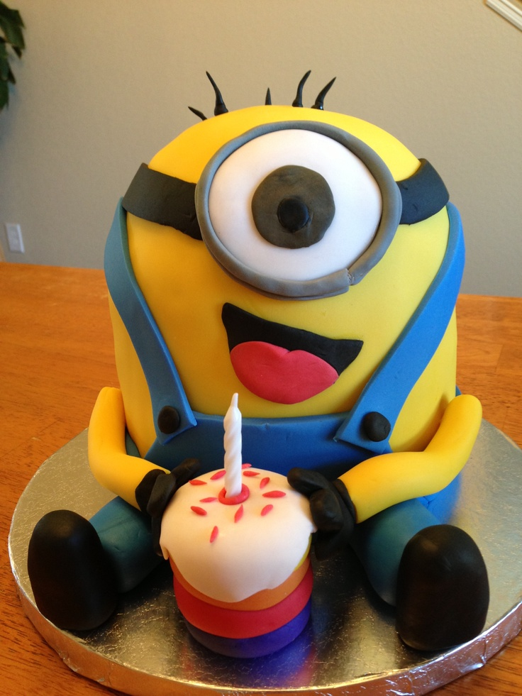 Fabulous Free Download Happy Birthday Cake Minions Happy Birthday Images Funny Birthday Cards Online Elaedamsfinfo