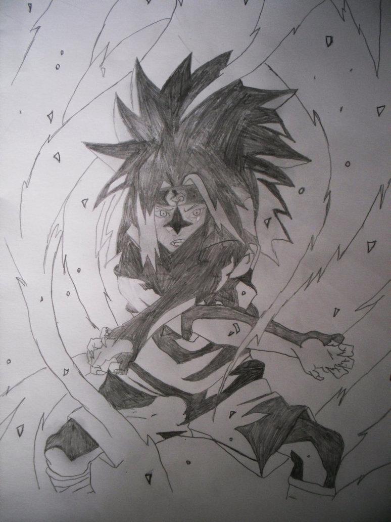 Uchiha Sasuke Curse Mark 2 by StubbornNinja 774x1032