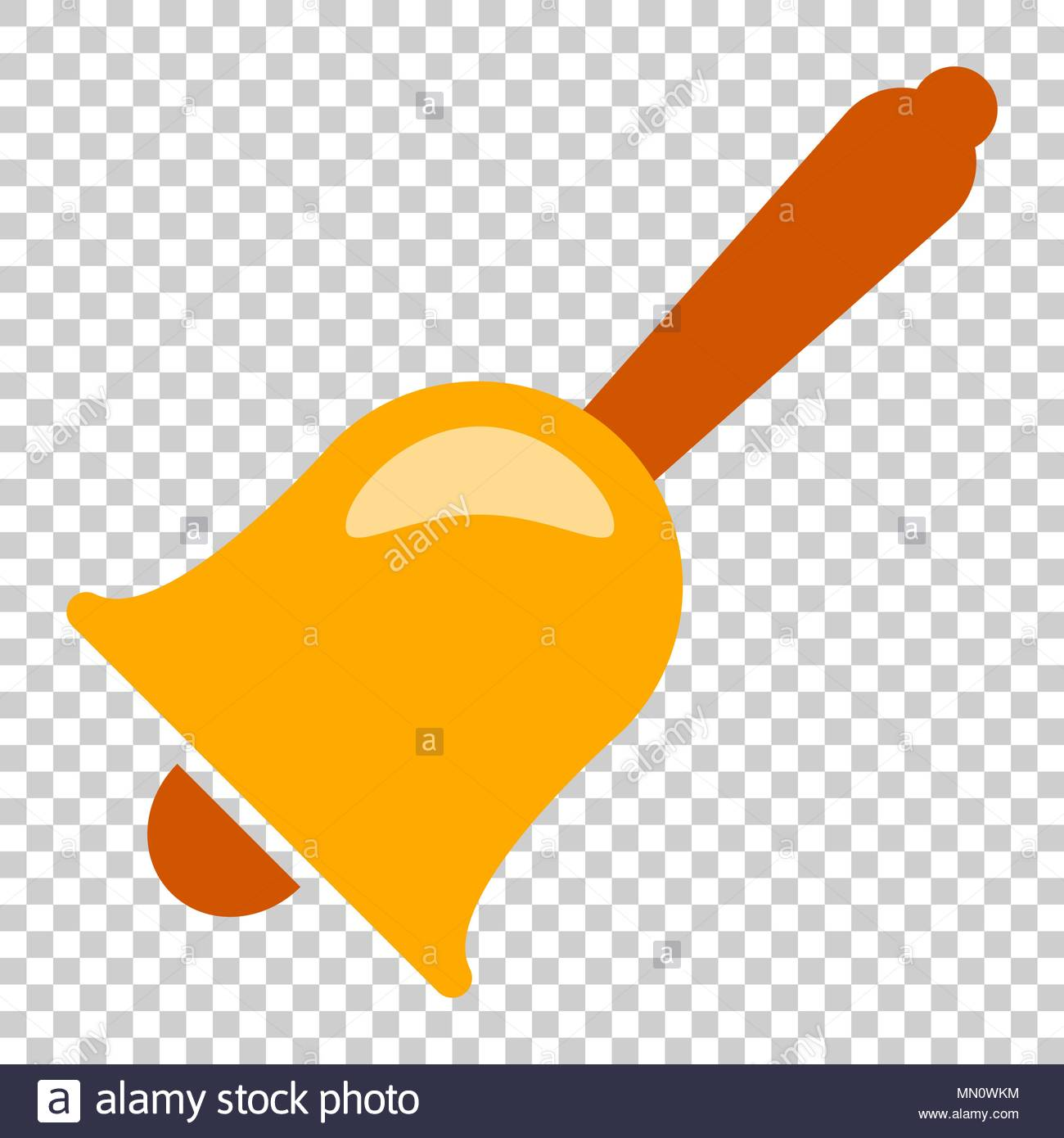 Bell alarm vector icon in flat style Bell jingle illustration on 1300x1390