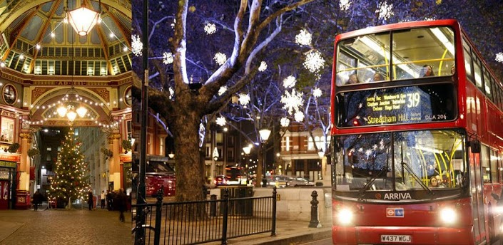 London Tours Christmas Lights