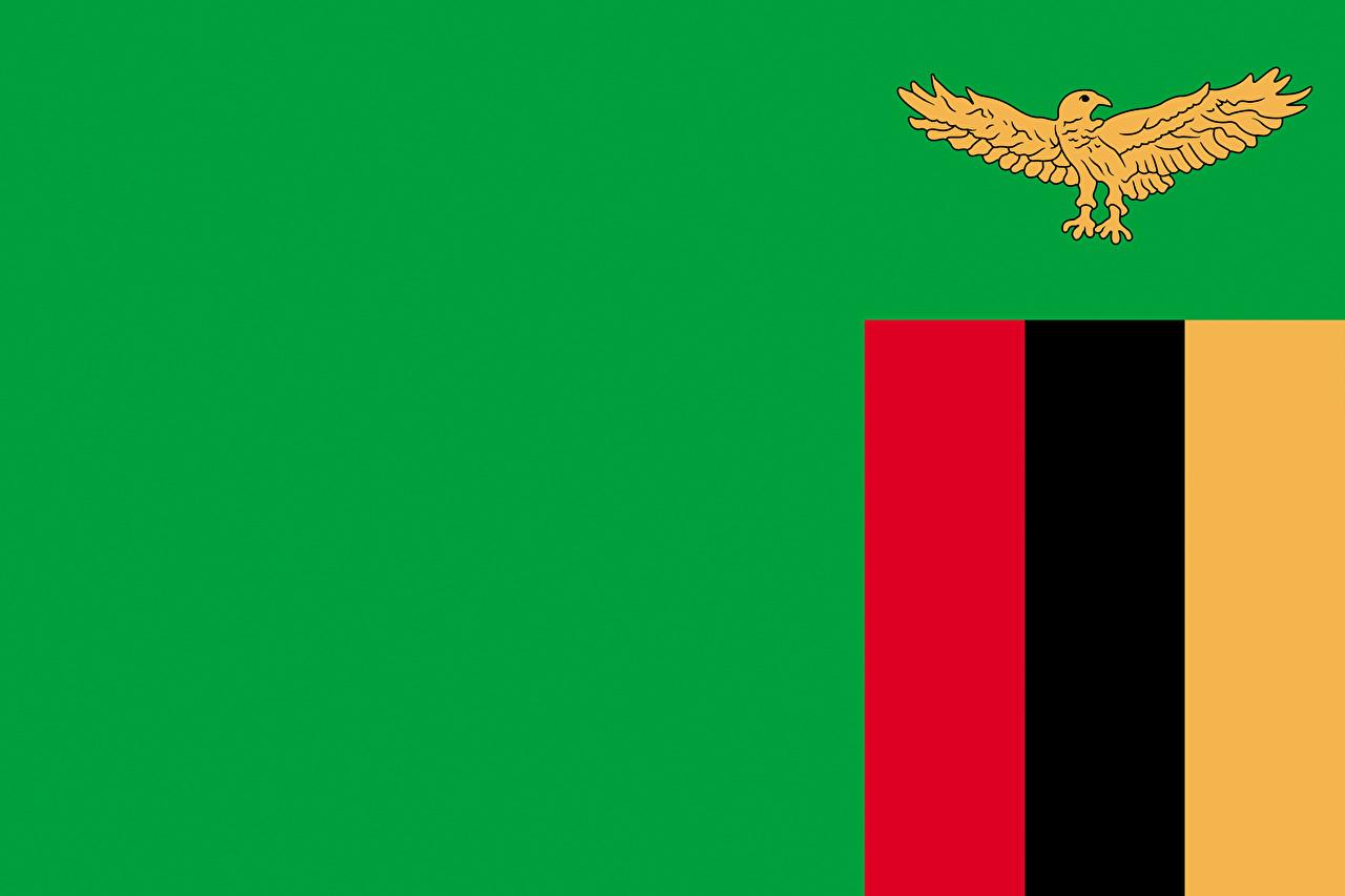 Photos Zambia Flag 1280x853