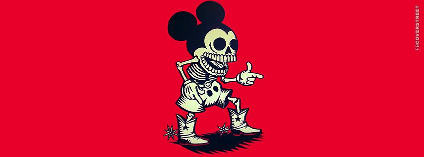 Dgk Wallpaper Dead western mickey mouse 851x315