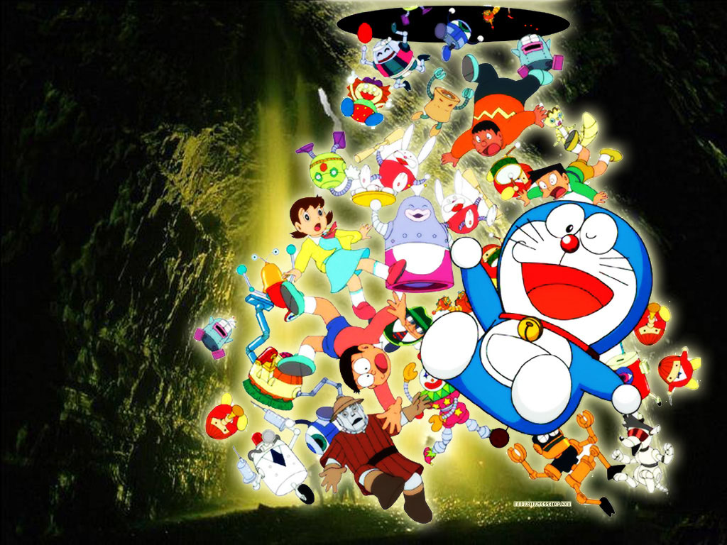 Wallpaper Doraemon HD Keren Deloiz Wallpaper 1024x768