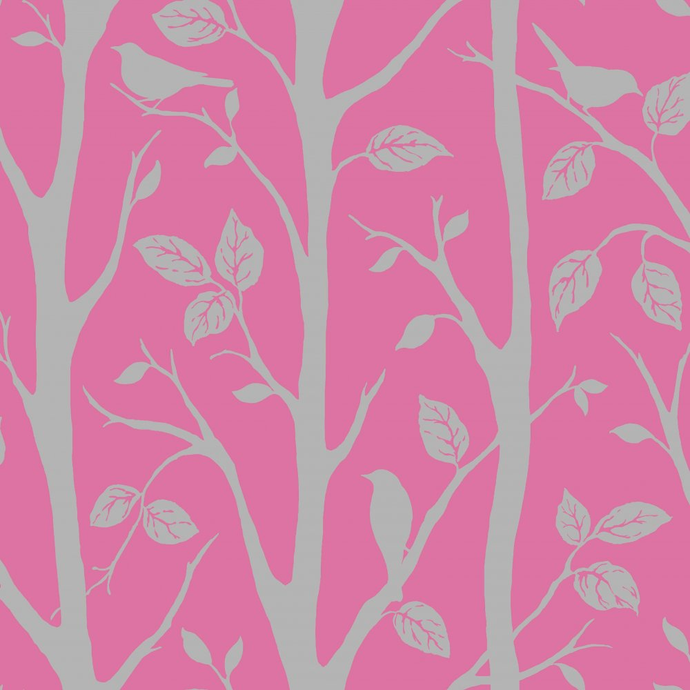 Love Wallpaper Shimmer Harmony Wallpaper Pink Silver ILW980015 1000x1000