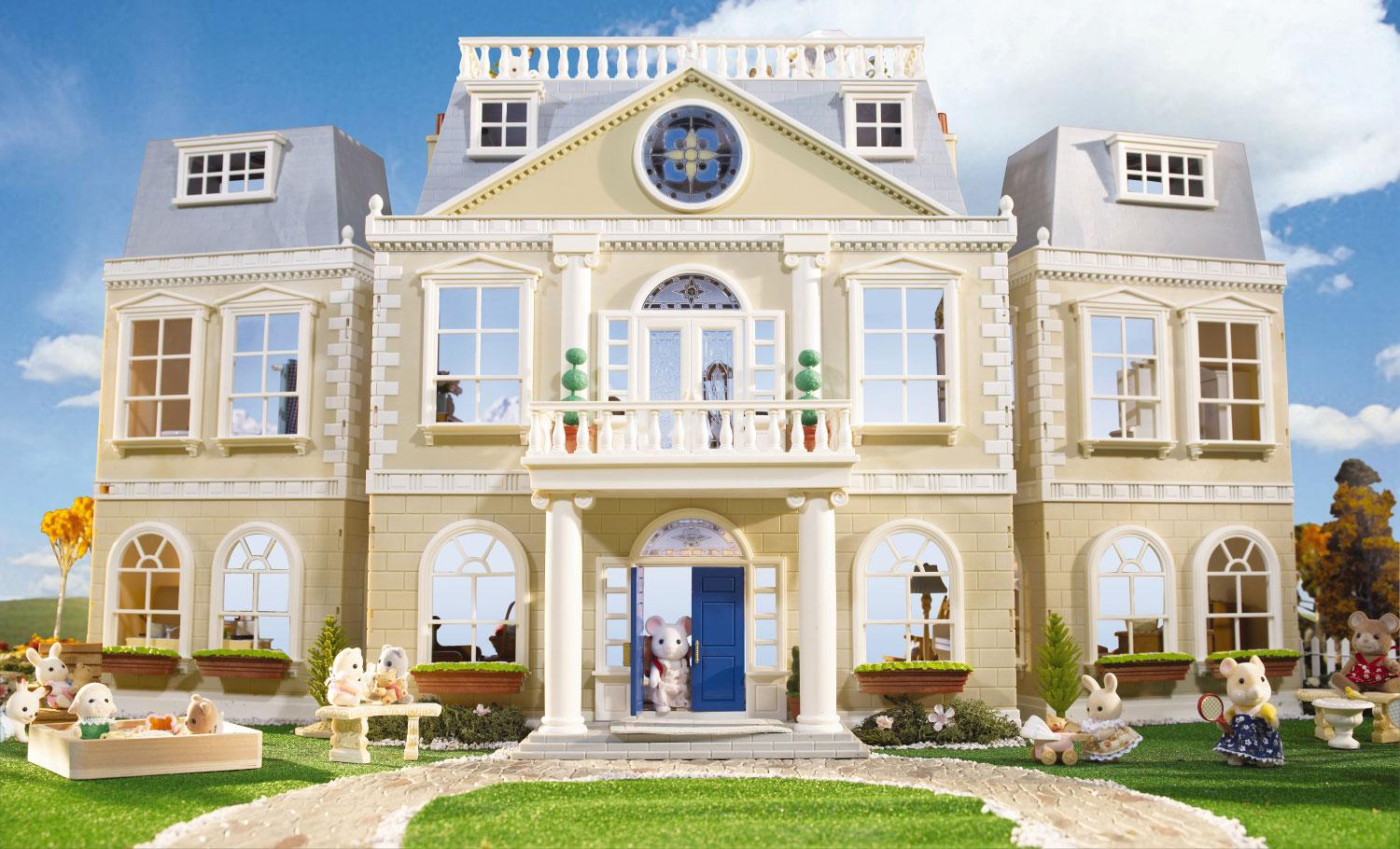 Calico Critters Cloverleaf Manor Mansion 1500x910