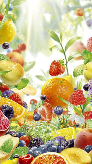 Cute Fruit Mobile Phone Wallpapers 360x640 Hd Wallpaper Download