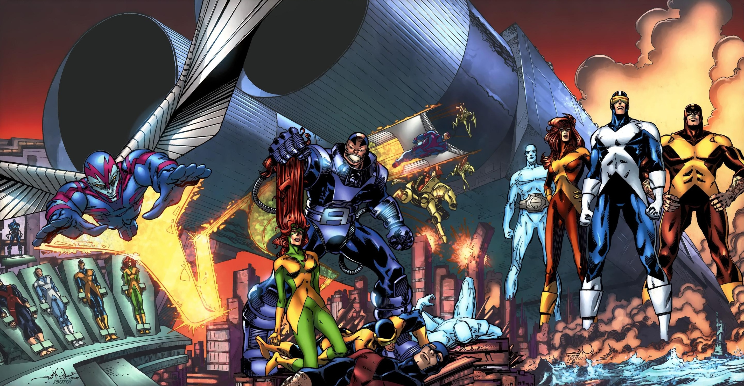 Men vs Apocalypse wallpapers and images   wallpapers pictures 2870x1491