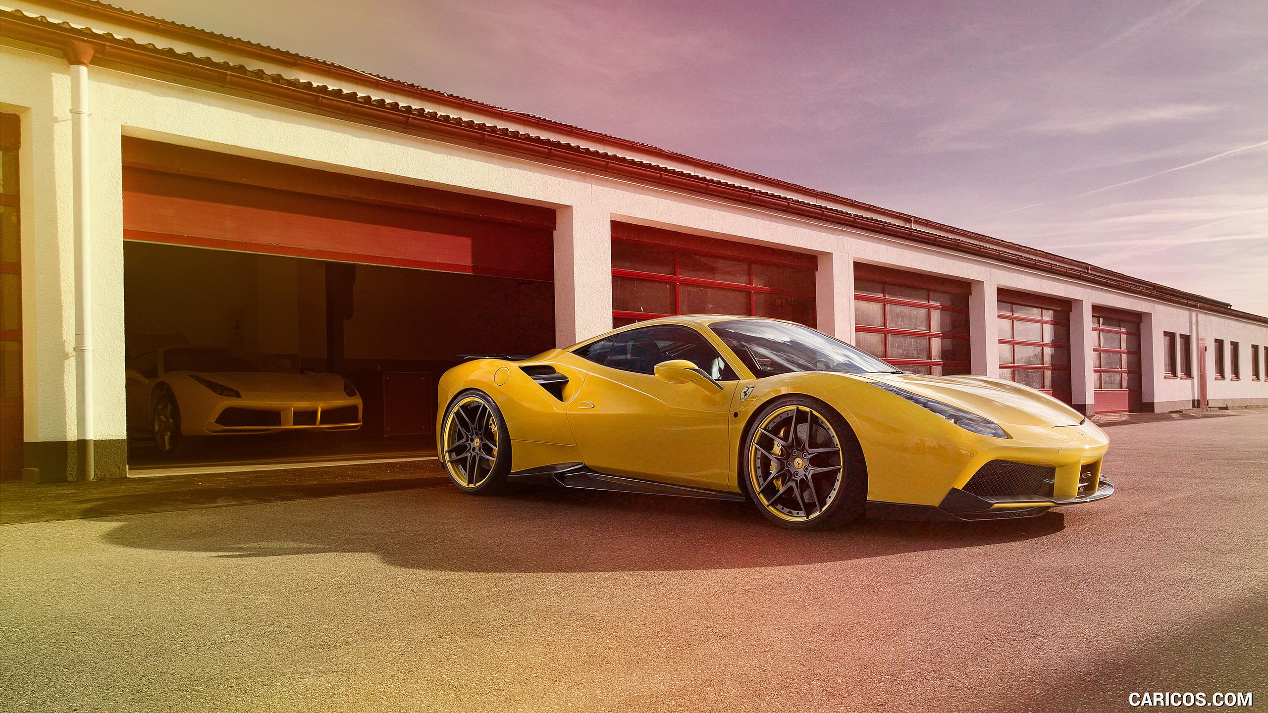 2016 NOVITEC ROSSO Ferrari 488 GTB   Side HD Wallpaper 6 2560x1440