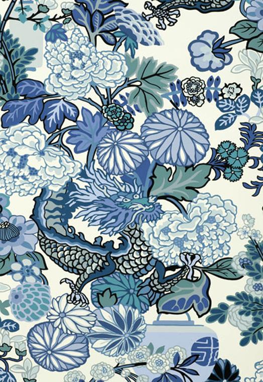 Cush and Nooks Chiang Mai Dragon Wallpaper 524x760