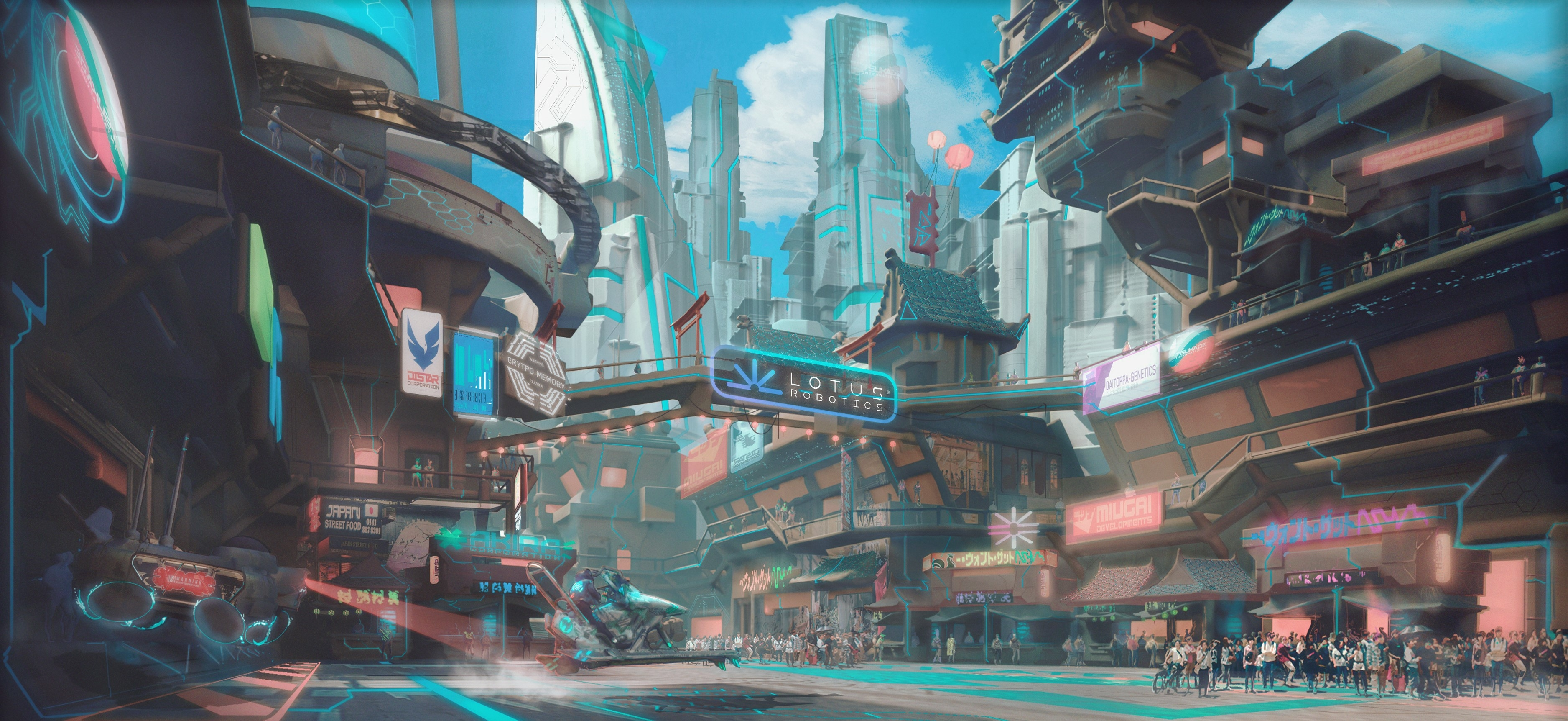 Zenith City Wallpaper HD Games 4K Wallpapers Images Photos and 3751x1723