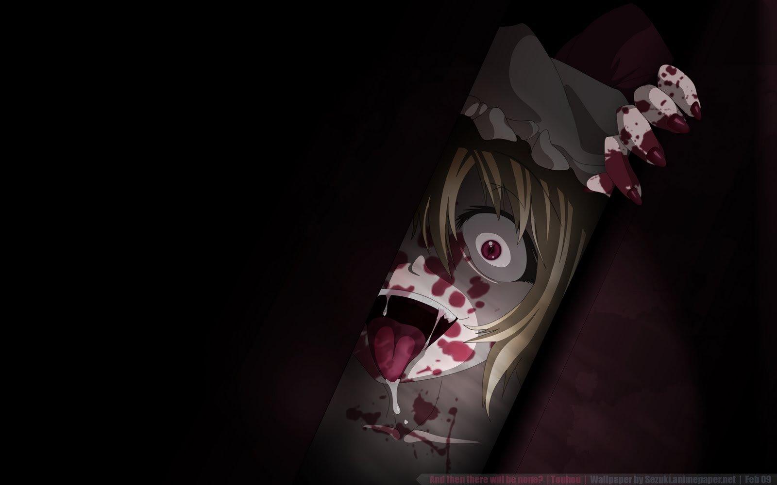 10+] Creepy Anime Wallpaper on WallpaperSafari