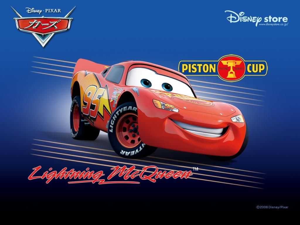 car lightning mcqueen 1024x768