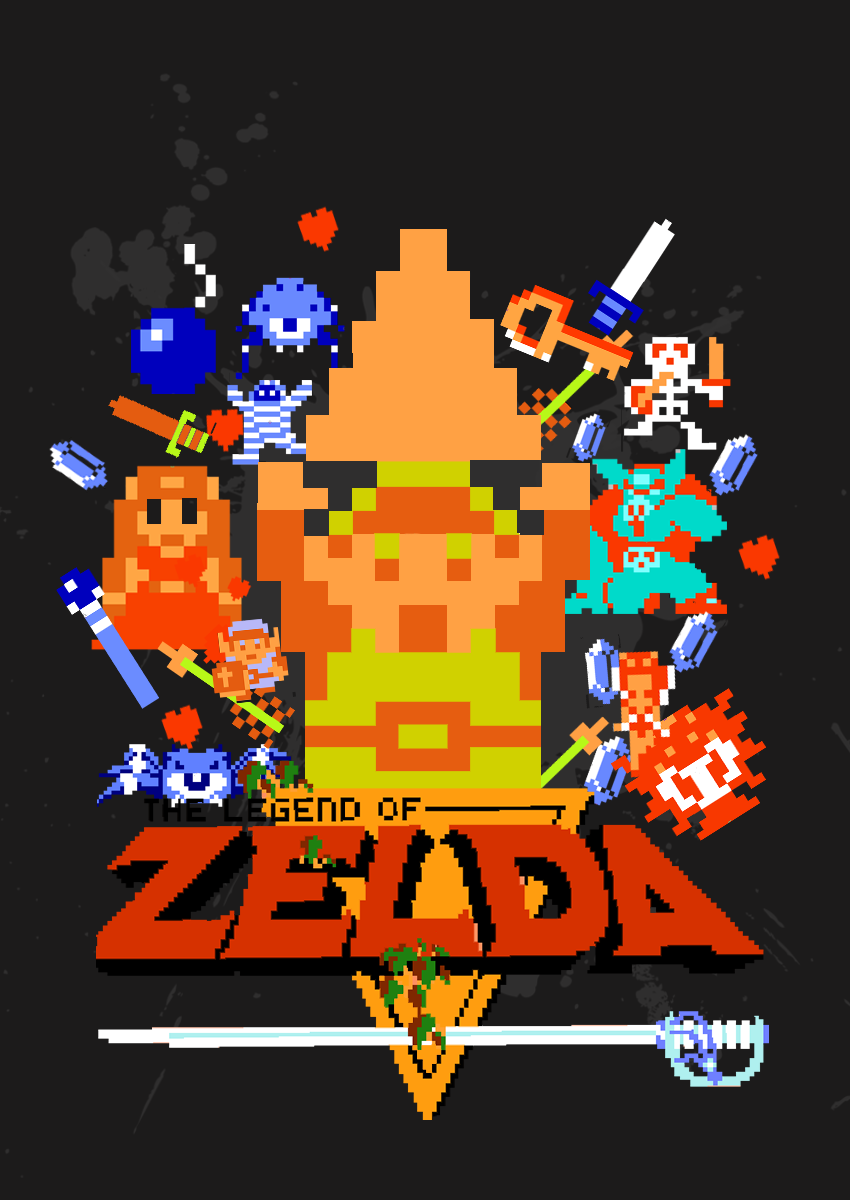 Free Download Classic 8 Bit Game The Legend Of Zelda Video