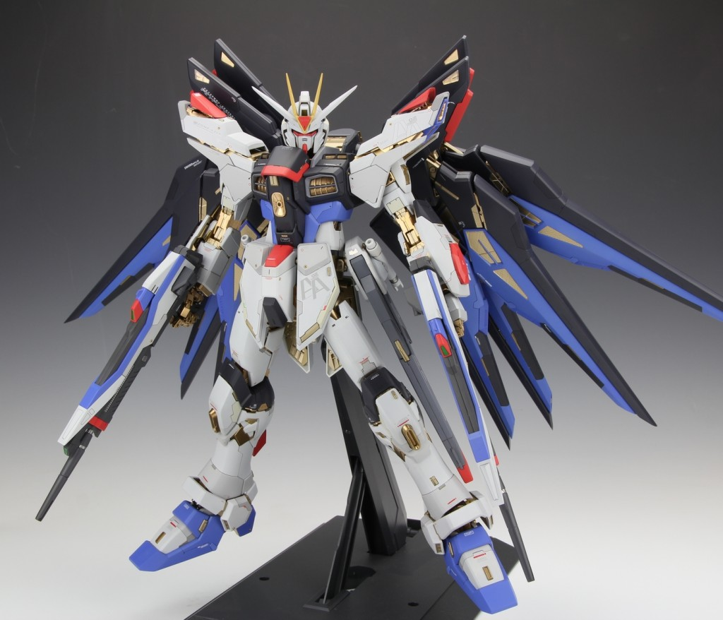 Strike Freedom Gundam Modeled by Photoreview No12 Wallpaper 1024x878