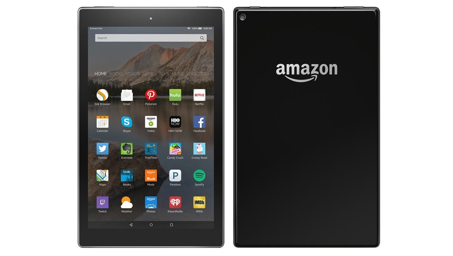 Amazons 10 Inch Kindle Fire Pops Up in Benchmark Shows Uninspiring 1450x822