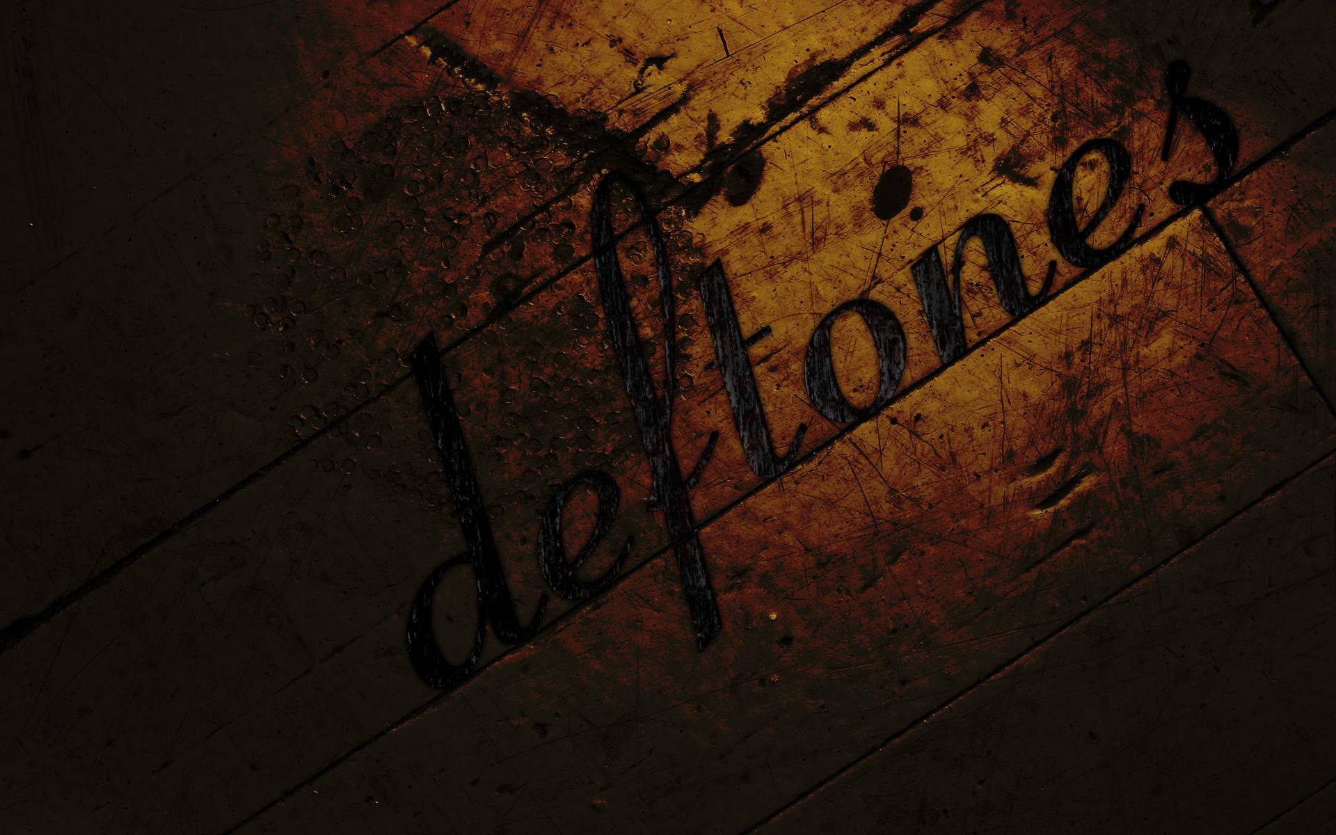 Deftones Logo Wallpaper Click To View Pictures 1920x1200