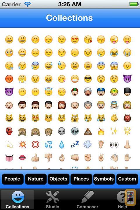 Emojis Wallpaper Iphone Icons Wallpapersafari